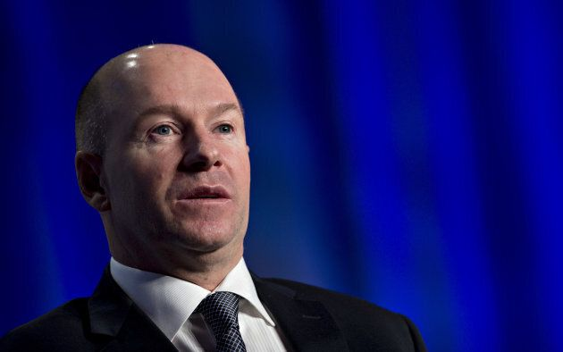 Alain Bellemare, president and CEO of Bombardier Inc., speaks during a discussion at the U.S. Chamber...