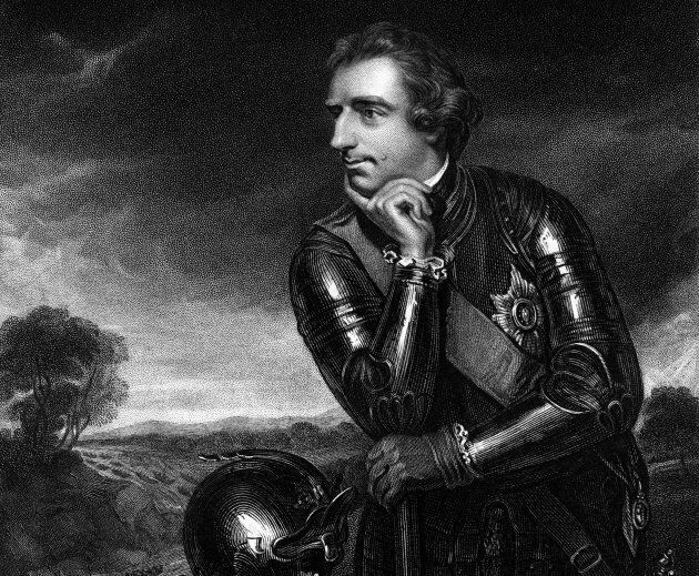 Jeffery Amherst, Commander-in-Chief of the British Army (1717-1797).