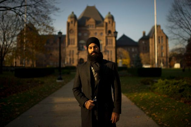 Jagmeet Singh's political career began at Queen's Park when he was elected MPP in 2011.