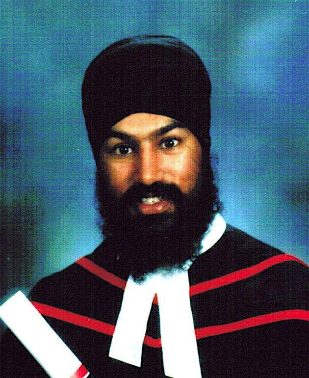 Jagmeet Singh graduating from law school in 2005.