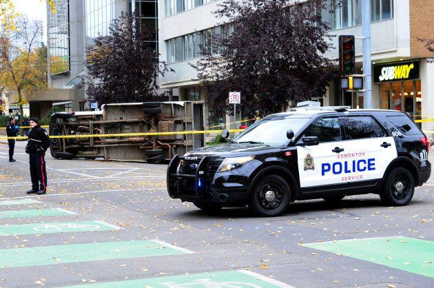 Edmonton police investigate the