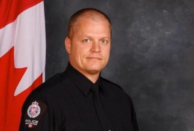 Edmonton Const. Mike Chernyk was injured after being stabbed by a suspect.