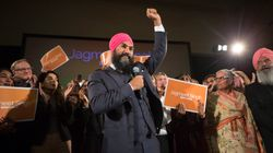 Jagmeet Singh Wins NDP Leadership Race On 1st