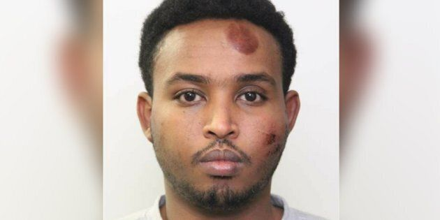 Abdulahi Hasan Sharif, 30, has been identified as the suspect in Saturday's attack in
