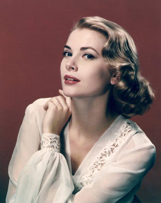 Portrait of actress Grace Kelly in 1955.