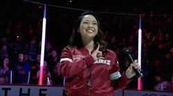 Canadian Anthem Singer Changes Her Mind About Taking A Knee In