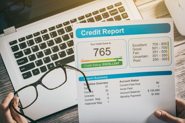 A credit score is a three-digit number telling people and companies how much of a financial risk you are when it comes to lending money.