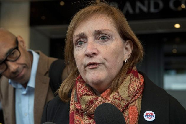 Emma Dent Coad, MP for Kensington. (Victoria Jones/PA Images via Getty