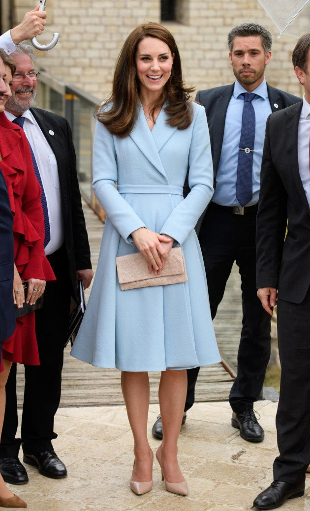 Catherine, Duchess of Cambridge on May 11, 2017 in Luxembourg. (Photo by Tim Rooke - Pool/Getty