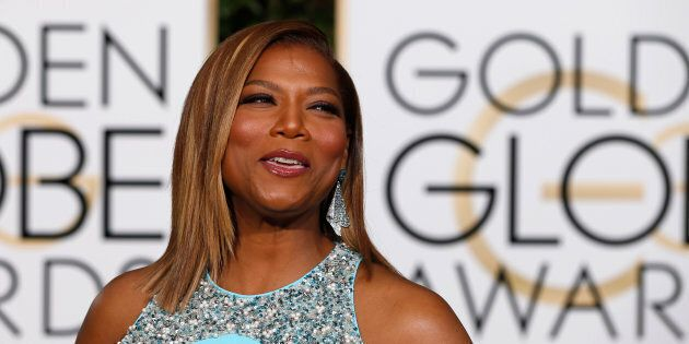 Actress Queen Latifah arrives at the 73rd Golden Globe Awards in Beverly Hills, California on Jan. 10,