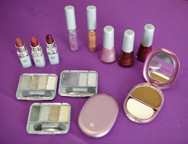 Products from the CoverGirl Queen Collection.