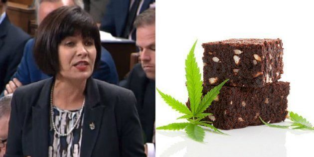 Health Minister Ginette Petitpas Taylor was asked Tuesday about the legalization of marijuana