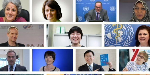 The newly appointed World Health Organization leadership