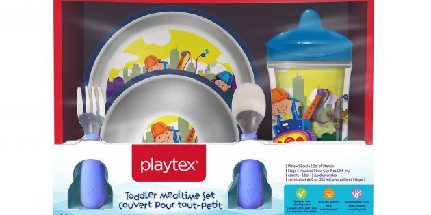 Playtex Children's Plates And Bowls Recalled Due To Choking