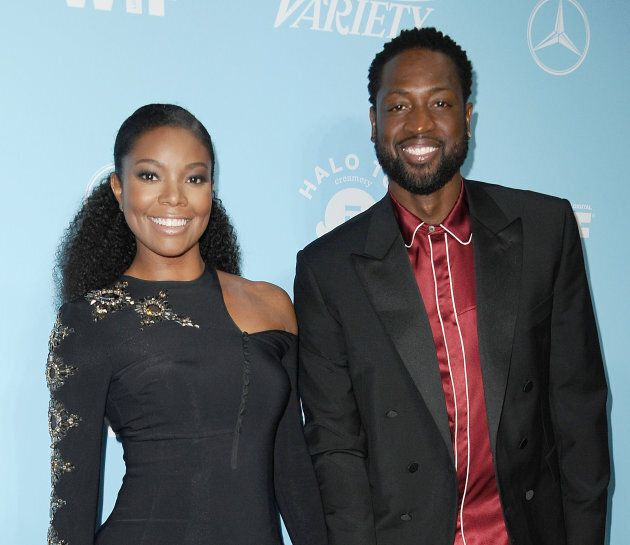 Gabrielle Union and Dwyane Wade attend Variety and Women In Film's 2017 pre-Emmy