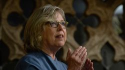 Elizabeth May Invokes Late Liberal MP's Words To Push PM On Climate