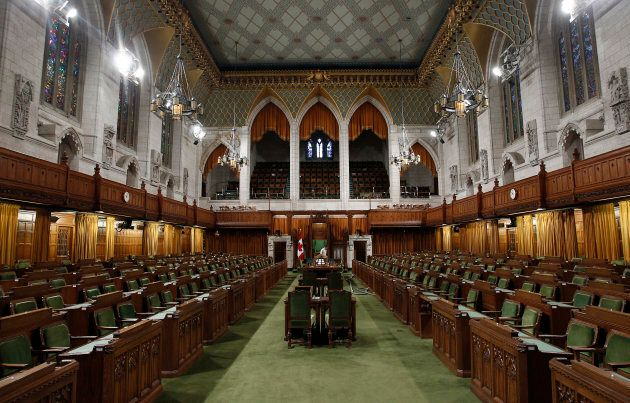 The House of Commons on Parliament Hill in Ottawa
