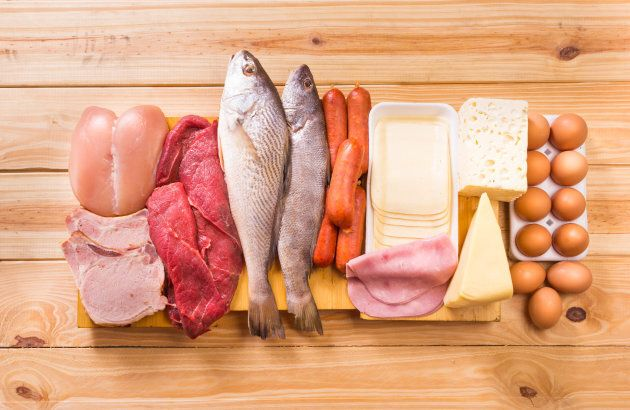 Meats, fish, dairy, and eggs, are all sources of vitamin