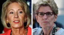 Ontario Premier Says She Would Welcome DeVos If She