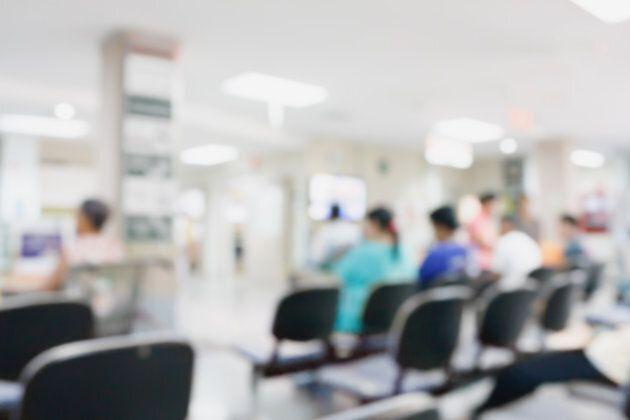 A hospital waiting