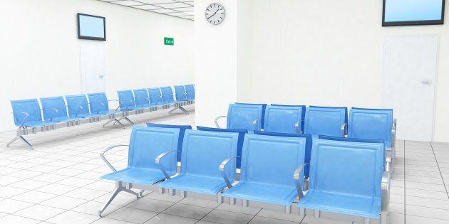 An ideal hospital waiting