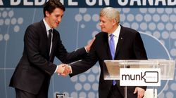 Hmm... Harper, Trudeau In Washington, D.C. For NAFTA