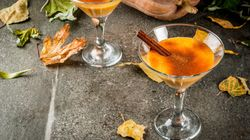 Pumpkin Spice Cocktails That'll Make You Want To Curl Up Next To A