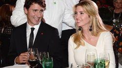 Trudeau Put In Awkward Spot At Gala As Ivanka Trump Looks