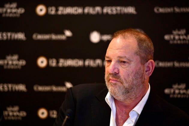 Harvey Weinstein speaks at a press junket during the 12th Zurich Film Festival on Sept. 22, 2016 in Zurich,