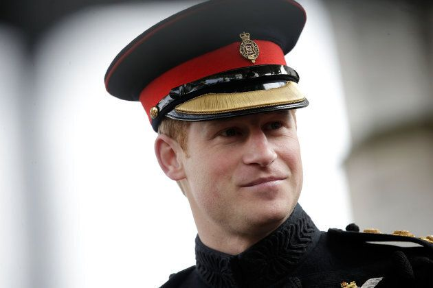 Prince Harry sans beard in