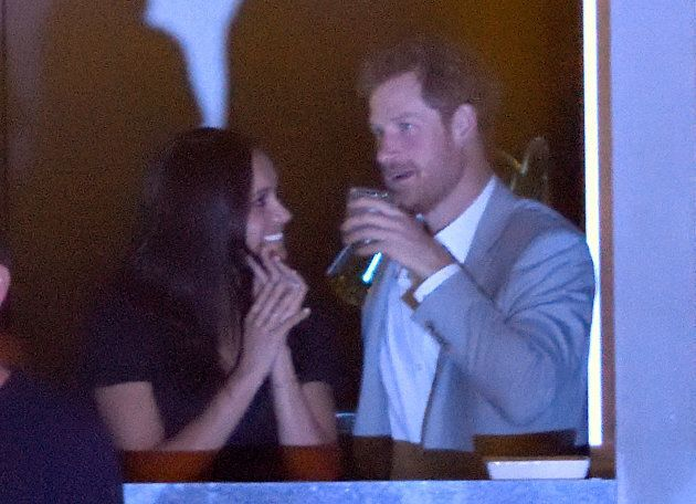 Meghan Markle and her prince at the closing ceremony of the Invictus