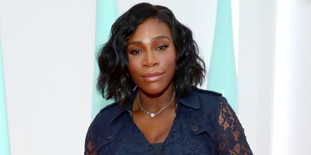 Serena Williams attends the launch of the Burberry DK88 Bag on May 2, 2017 in New York