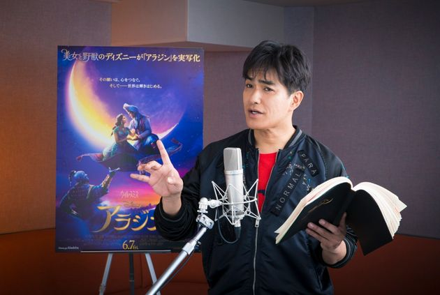 『アラジン』のプレミアム吹替版で、主人公アラジンの敵・悪役のジャファー役の声優を演じる俳優の北村一輝さん