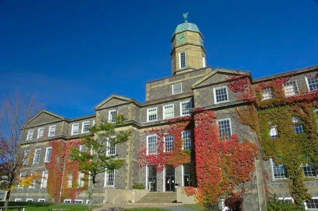 Dalhousie President Richard Florizone tweeting that the university is considering taking disciplinary...