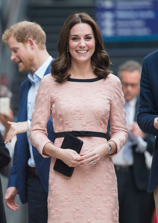 Duchess of Cambridge attends the Charities Forum Event at Paddington Station on October 16, 2017 in London,