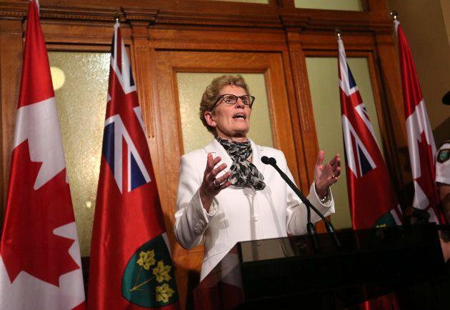 Ontario Premier Kathleen