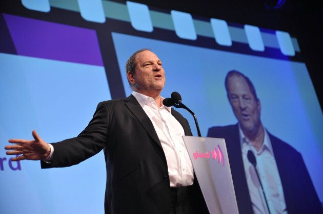 Producer Harvey Weinstein speaks at the 23rd Annual GLAAD Media Awards on March 24, 2012 in New York
