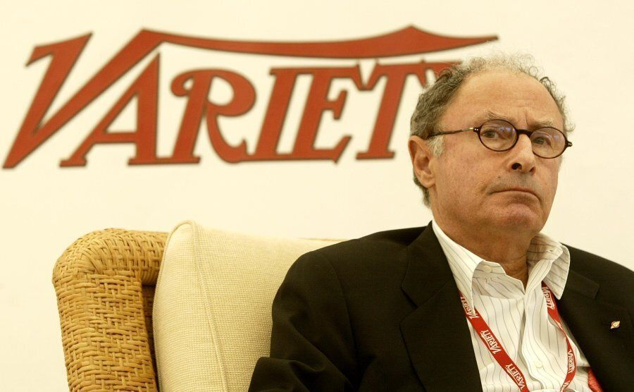 Variety magazine's editor-in-chief Peter Bart speaks at a panel on May 16, 2004 in Cannes,