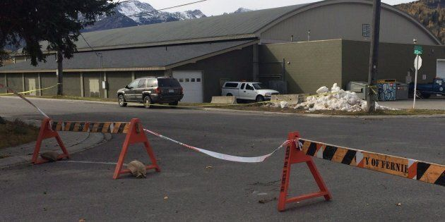 Fernie Memorial Arena in Fernie, B.C. where three people died after a suspected ammonia leak while they...