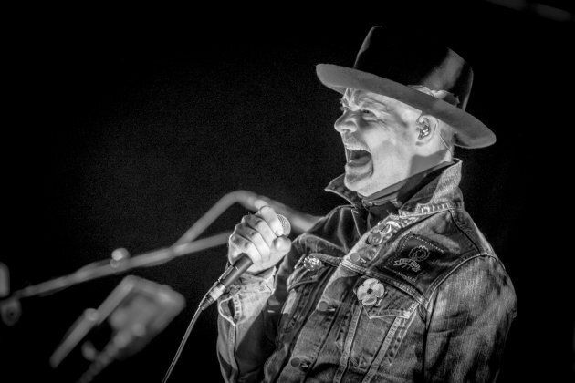 Gord Downie performs his 'Secret Path' album live at the National Arts Centre on October 18, 2016 in Ottawa.