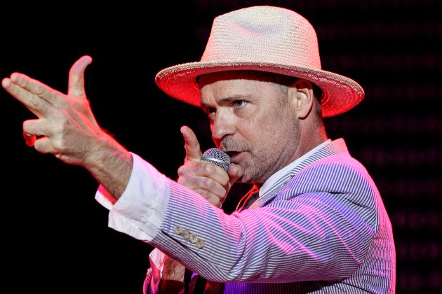 Gord Downie and The Tragically Hip at the RBC Royal Bank Bluesfest on July 11, 2013 in Ottawa, Canada.