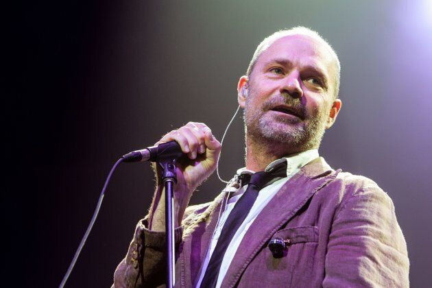 Gord Downie of The Tragically Hip performs at Caesars Windsor in Windsor,