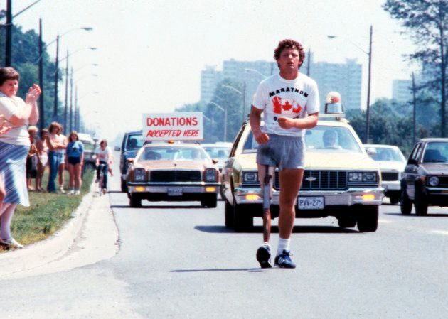Terry Fox, July