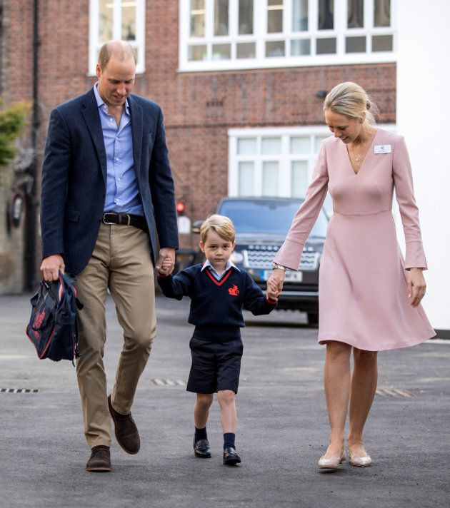 Prince George and his adorable