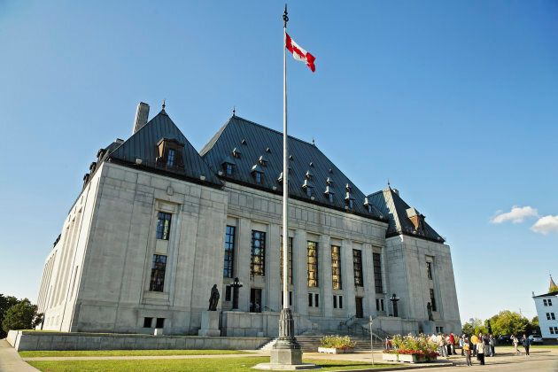 The Supreme Court of Canada Building.
