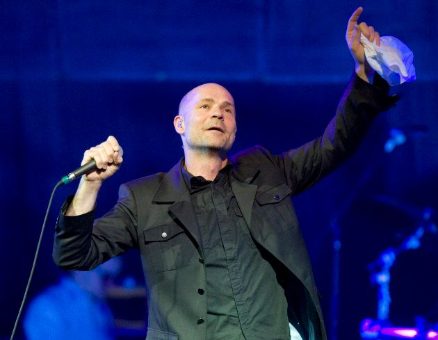 Gord Downie at an undated Tragically Hip