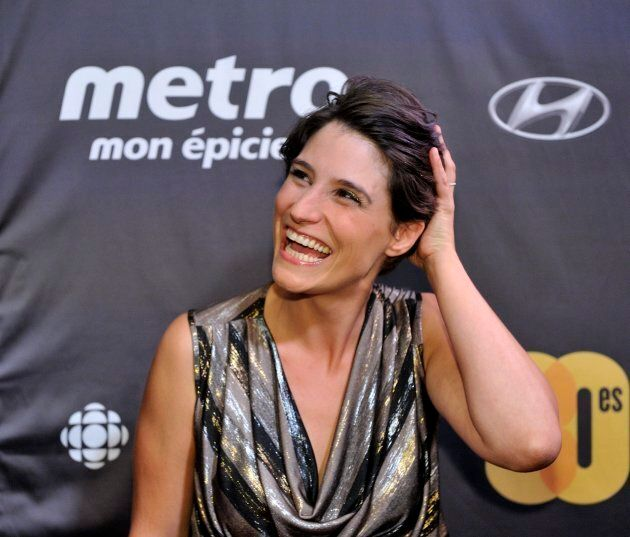 Salome Corbo, seen at the Les Prix Gemeaux awards in Montreal on Sept. 20, 2015, alleges that Gilbert...