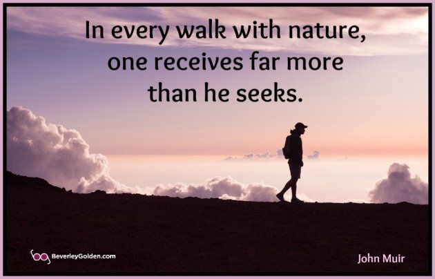 Naturalist John Muir quote about nature