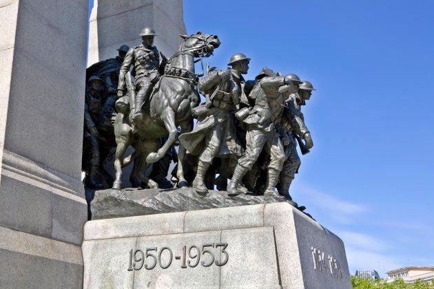 National War Memorial, Tomb of the Unknown Soldier,