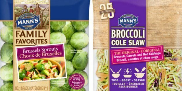 Various packaged vegetable products have been recalled in